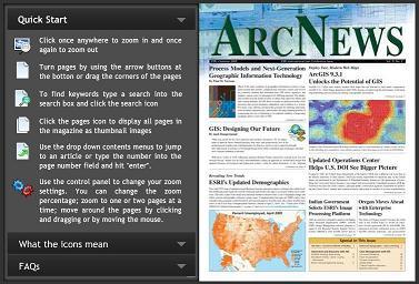 ArcNews - Primavera 2009 - en flipbook